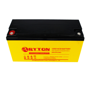 Poly mono Panels solar battery 150ah 12v