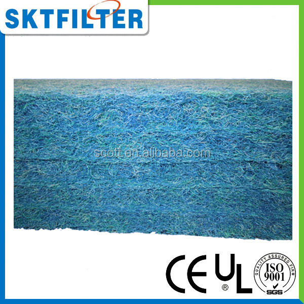 "Japanese Filter Mat Blue Pad 40"" x 80"" x 11/2"" Half Sheet Media for Koi & Pond Filters"