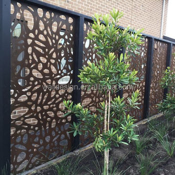 Metal outdoor privacy screens buy metal outdoor privacy for Large outdoor privacy screen
