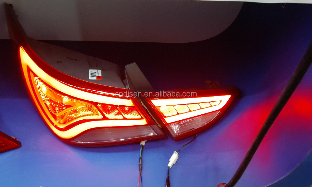 For Hyundai Sonata 2011 LED tail lamp modified/tuning/refit(Fit for:Sonata 2011/2012/2013)