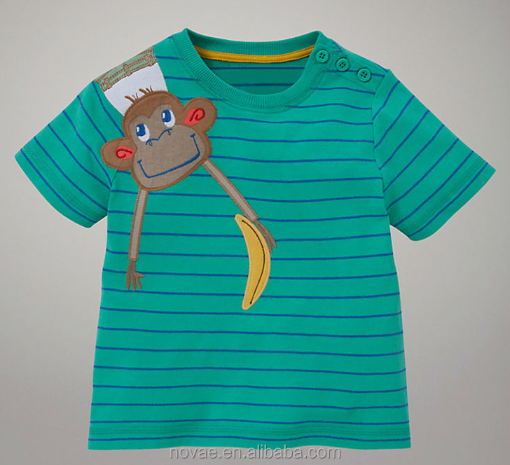 4436ae72b3 100%Cotton Baby Wholesale Clothing Baby China 13-18Months Baby Kid Boys  T-Shirt With Print Or Embroidery Design Kid T-Shirt ...