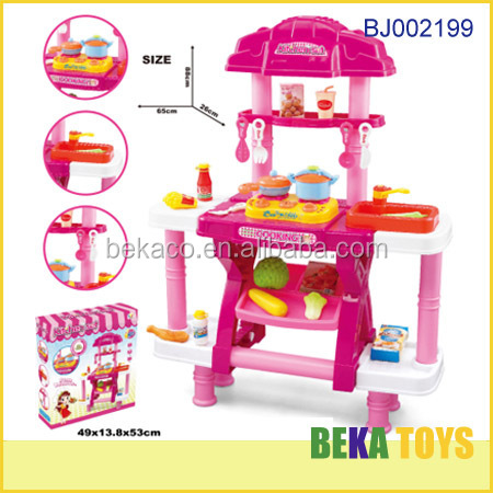 New Item Kids Toy Large Plastic Kitchen