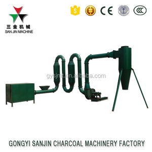 Hot Airflow Type wood sawdust dryer