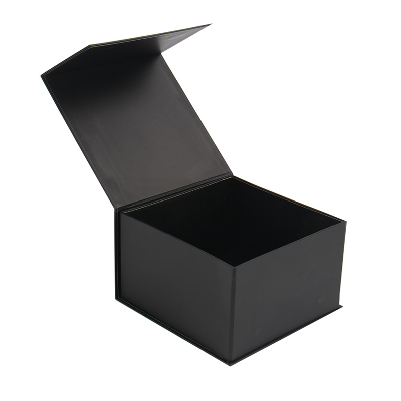 Luxury High Quality Custom Logo Book shaped Foldable Flip Open Baseball Cap  Packaging Gift Box