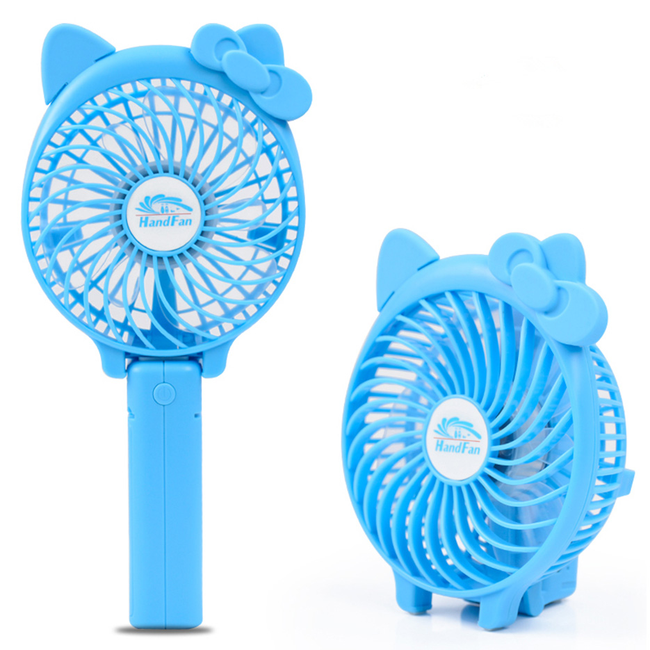 Fashion Small Plastic No Noise Foldable Hand Fan