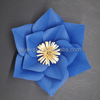 Artificial Wedding Big Flowers Giant Paper Flower Wall Buy Paper Wall Hanging Paper Flower Wall For Wedding Wall Hanging Artificial Flowers Product