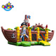New design inflatable pirate ship china bounce house,pirate ship 3 in 1 bounce castle,Multiplay Piratenboot