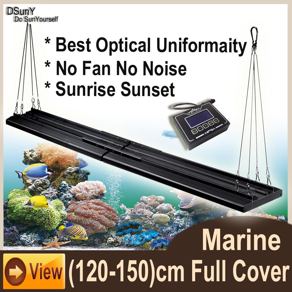 Wholesale 48inch 120cm 4ft LED Aquarium Light for Coral Reef Full ...