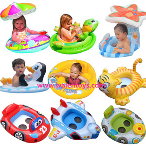 Baby Kids Inflatable Baby Swim Seat Float Boat.Inflatable baby swim float boat