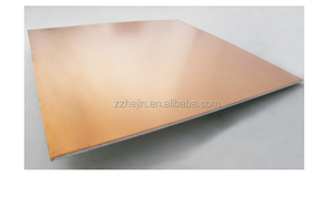Copper cladded Aluminum plate used for RF metal components