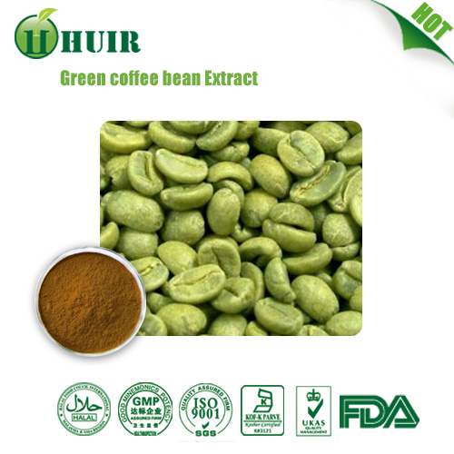 Lowest Price:Green Coffee Bean Extract/Kosher Green Coffee Bean P.E./ Green Coffee Bean Extract