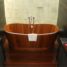 Wooden Bathtub Buy Wooden Freestanding Bathtubs Wooden