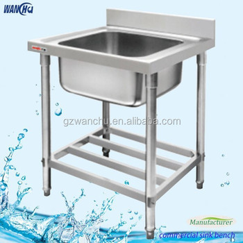 Brushed Single Bowl Kitchen Sink Table In Malaysia China Factory ...
