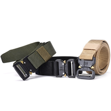 Canvas <span class=keywords><strong>벨트</strong></span>로 예쁘게 men's army 군 multi-function nylon 야외 training belt