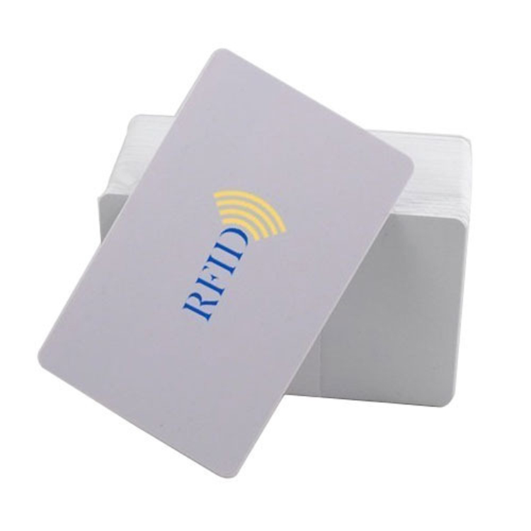 Free Samples RFID Smart 13.56MHZ ISO14443A Card Blank White Hotel Room Key Card