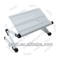 Business Opportunity Wholesale White Furniture Portable Metal Tray for Laptop in Bed