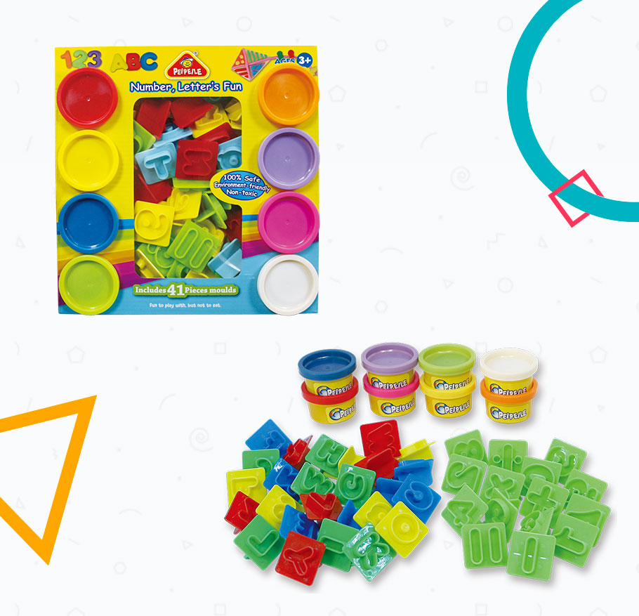 PLAY DOUGH, NUMBER & LETTER'S FUN, 2019 BEST SELLING EDUCATIONAL TOYS FOR KIDS