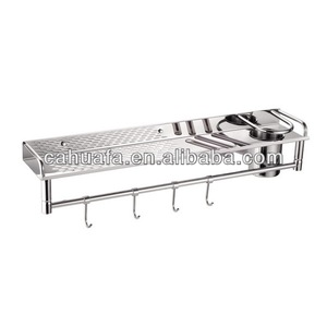 Top Quality Polished Single Metal Stainless Steel Kitchen Rack and Knife Holder