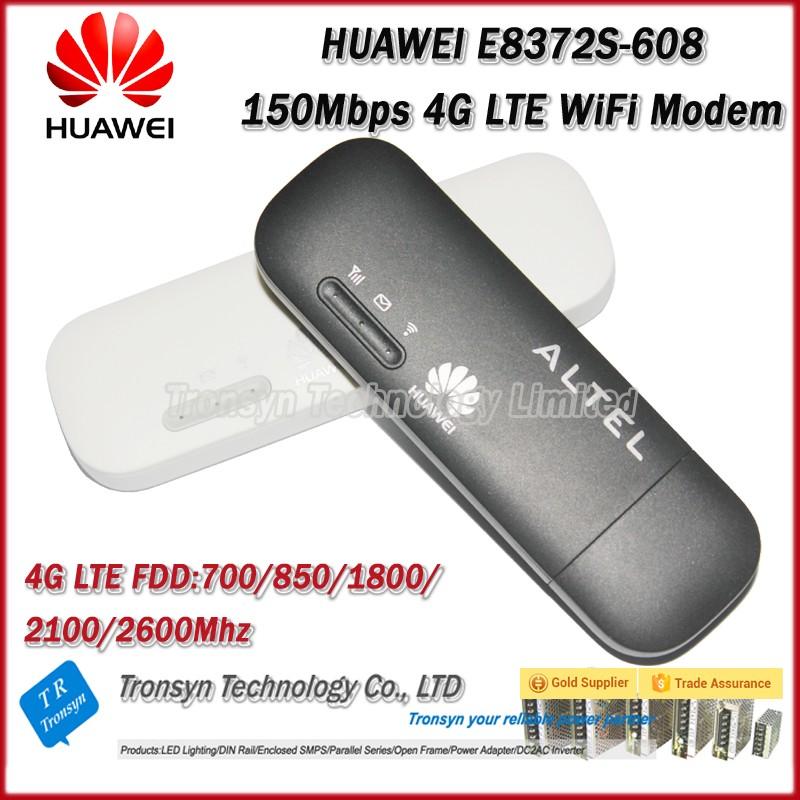 150Mbps Hua wei E8372 E8372H-153 4G LTE USB Modem Support B1 B3 B7 B8 B20