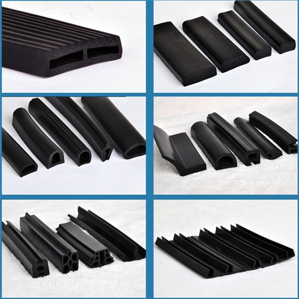 Edge banding rubber flexible trim epdm