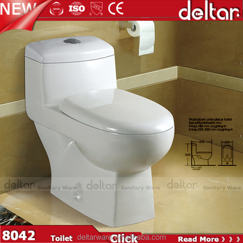 Foshan Hot Sales Model One Piece Toilet Anglo Indian Washdown With Cheapest Price
