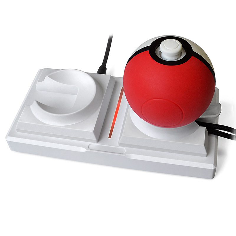 สำหรับ Nintendo Switch Poke Ball Plus สำหรับ Pokeball Charger Dock Station สำหรับ Nintendo