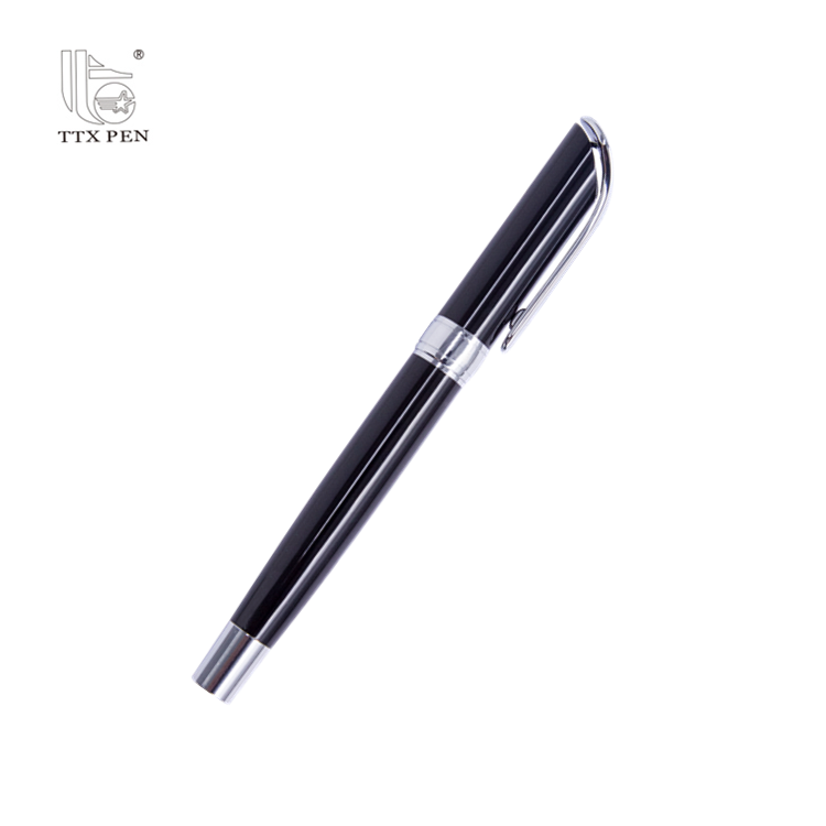 2019 Deluxe best quality metal brand custom logo fountain pen for company