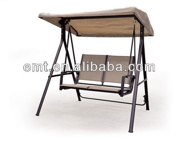 Wholesale Two Seat Swing Chair With Sunshade For Lovers In Gardern Set  Outdoor Furniture(1188SC