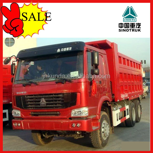 chinese 15 tons sand tipper truck low price sale