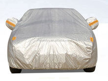 Convenient /Foldable Car Covers UV protection aluminum film+cotton