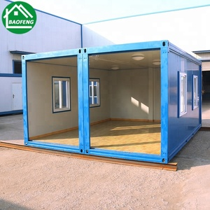 mobile flat pack customized iso9001 &ce certificate 20ft container