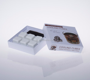 FDA & LFGB Approved Wine Accessories Ceramics Ice Cube, Ice Cube Tray ,Stone Ice Cube 6pcs/box LFK-IC02