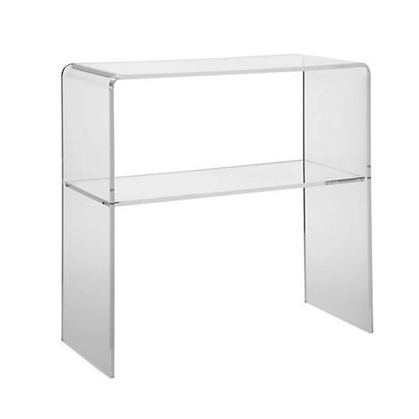 Mode console table en acrylique transparent table de console de luxe table b - Console plexiglas transparent ...
