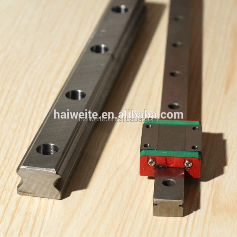 cnc cpc linear guide miniature linear motion guide square linear rail guide MGN7 MGN9