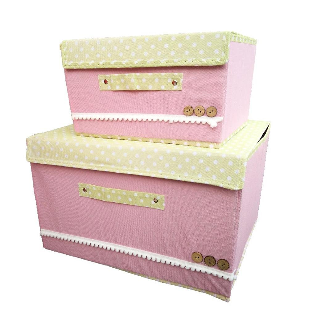 Get Quotations · Elevin(TM) Underwear Storage Box Storage Boxes Of Clothing  Order Box (pink)