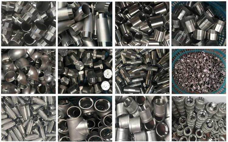 OEM 150lb stainless steel 304 pipe fittings long barrel nipple