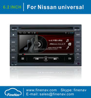 6.2inch Android4.0 Car audio player for Nissan Universal with Gps Navi,3G,Wifi,Bluetooth,Ipod,Free map Support Back Camera