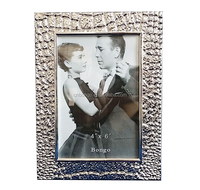 bulk 4x6 silver plated metal photo picture frame