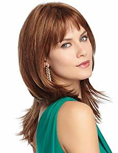 Wigs have an attractive convenience fashion The European And American Fashion Brown Long Straight Hair Wigs