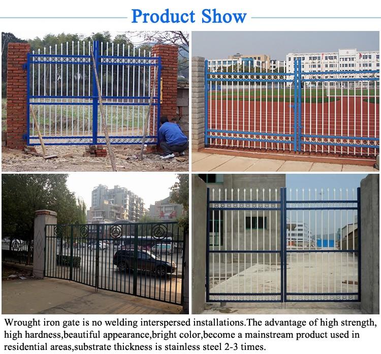 Philippines Main Gate For Villas Iron Pipe Door Iron Gate Design ...