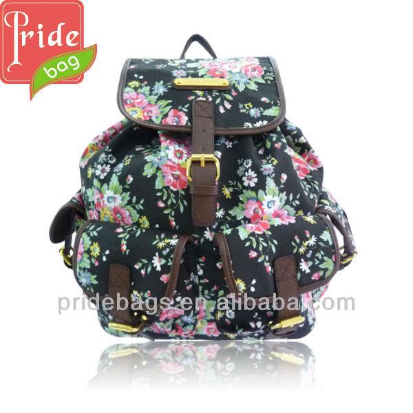 lona niñas de escuela bolsos la mochila de mochilas las para secundaria B4pxwp7
