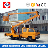 Save Time And Fashional Towable Boom Lift