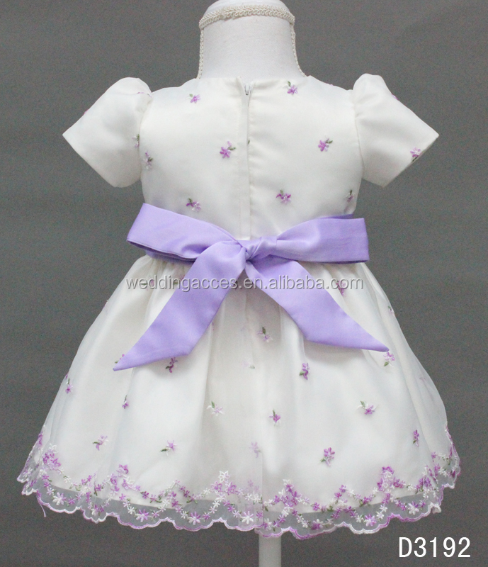 D3192Q Graceful Fashion Dress for Flower Girl in Wedding Party