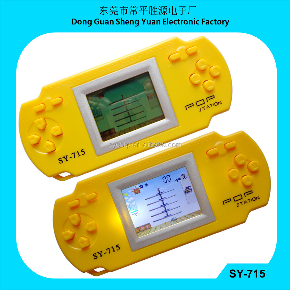 Sy-715 Porter Game Pocket Game With Back Light Portable Games ...