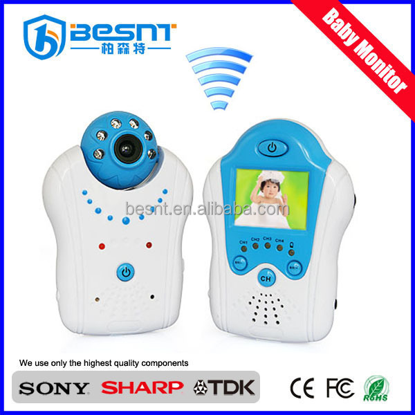 digital two way speak security wireless video baby monitor,baby care camera BS-W213