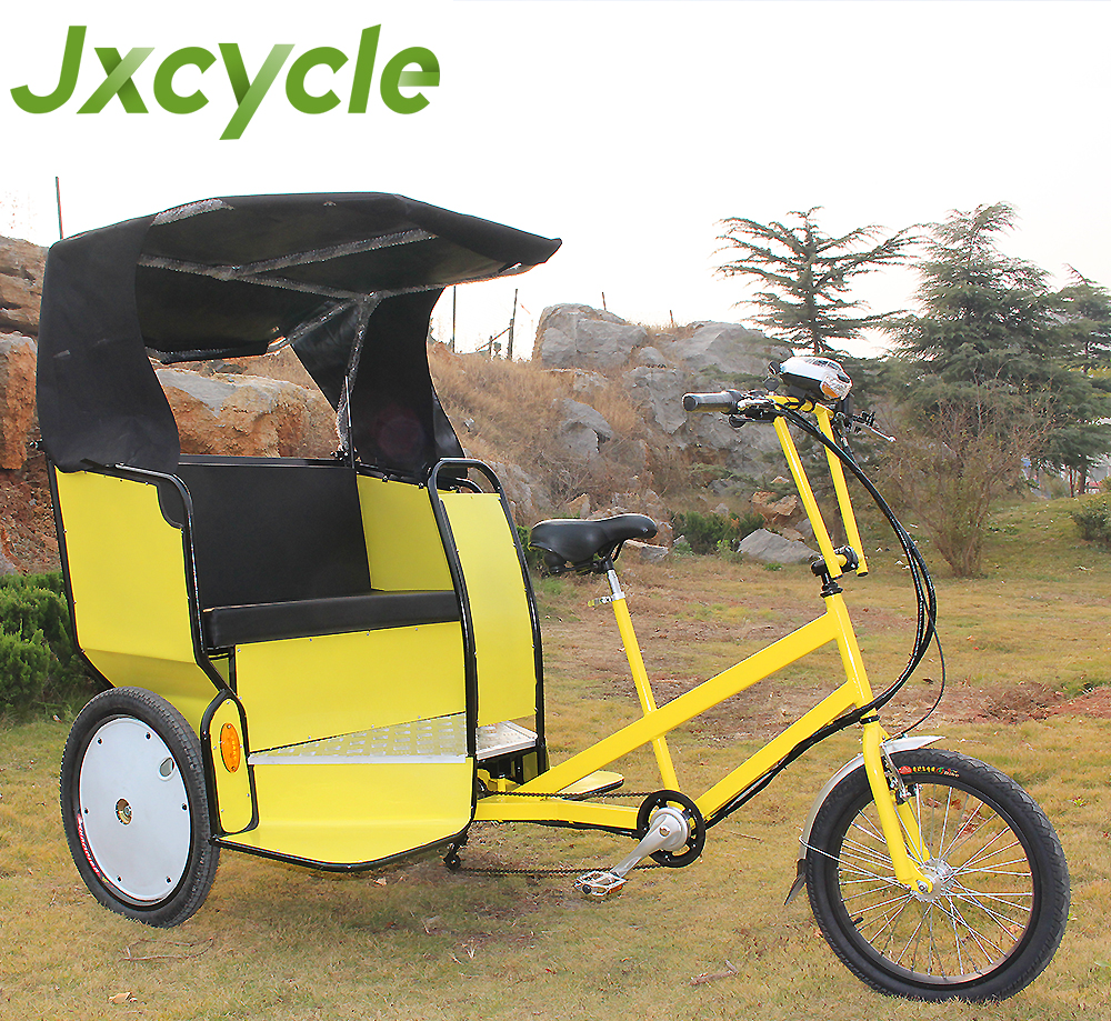 Electric Passenger Pedicab bike taxi for sale