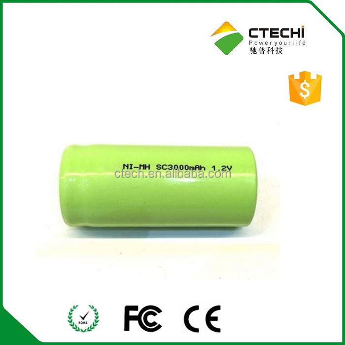 1.2v 3000mah Sub C Nimh Battery, 1.2v 3000mah Sub C Nimh Battery ...