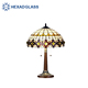 HEXAD Tiffany style stained table lamp HTL14
