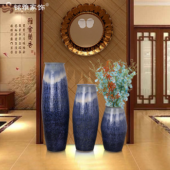 China Supplier Pottery Tall Vases Hotel And Restaurant Lobby Floor
