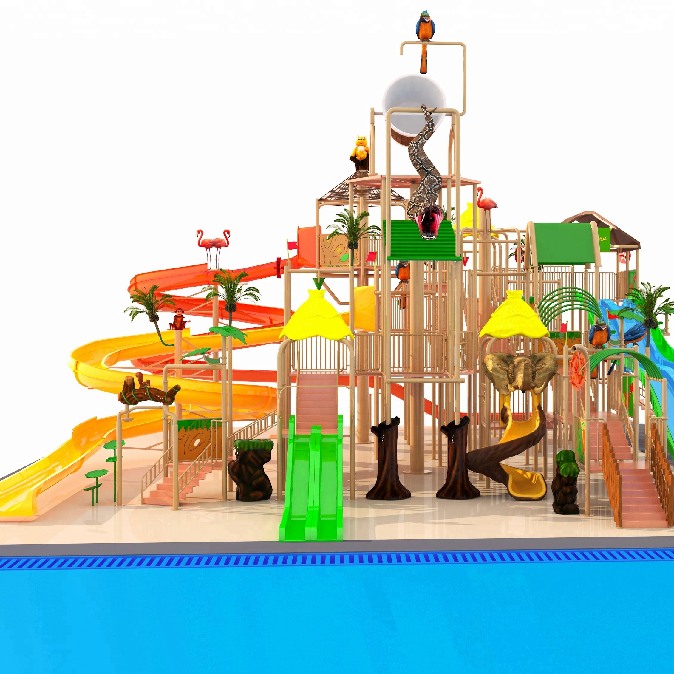 Swimming Pool Water Play Equipment Fiberglass Kids Ridehouse Equipment For  Playground - Buy Theme Park Water Rides,Water Park Spray Equipment,Aquatic  ...